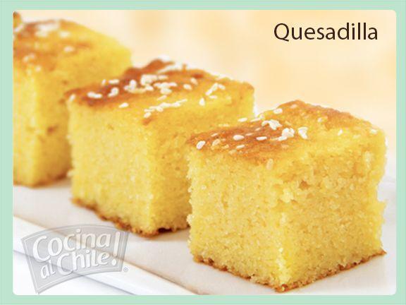 Quesadilla - Sweet bread with cheese. La receta original a base de queso de Zacapa