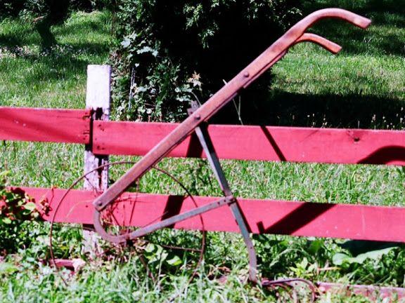 Antique Garden Cultivator Plow
