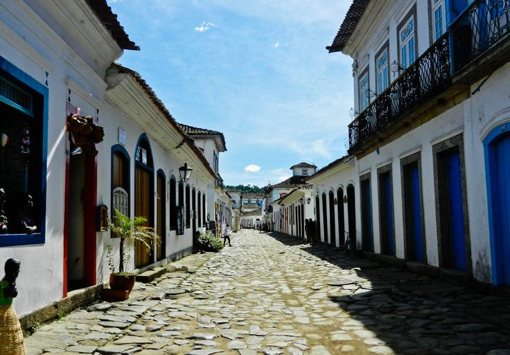 Colonial Streets of Paraty, #Brazil