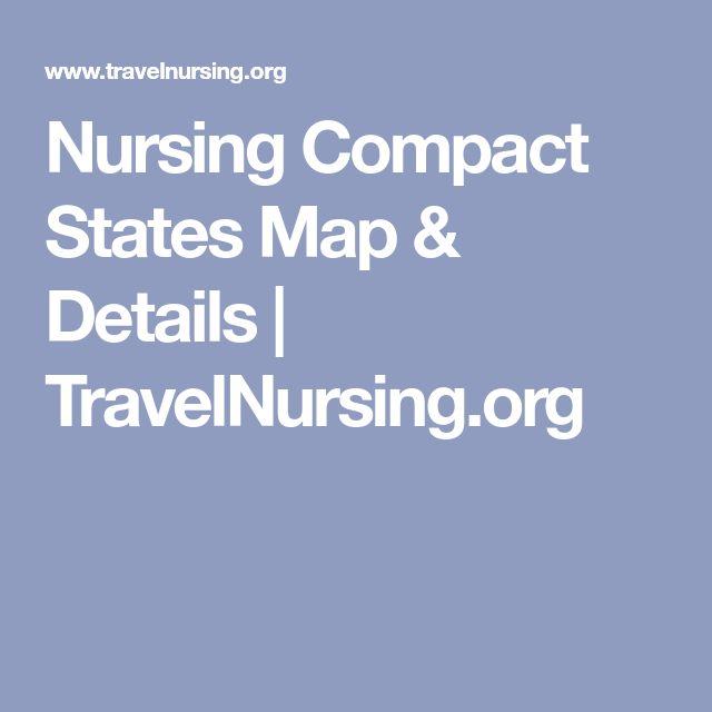 Nursing Compact States Map & Details | TravelNursing.org