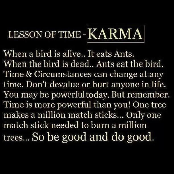 Friendship Tit For Tat Quotes: Some Times I Think We Tend To Forget About Karma When We