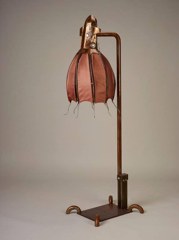 Vampire Squid Floor Lamp Sculptures By Jason Lydic