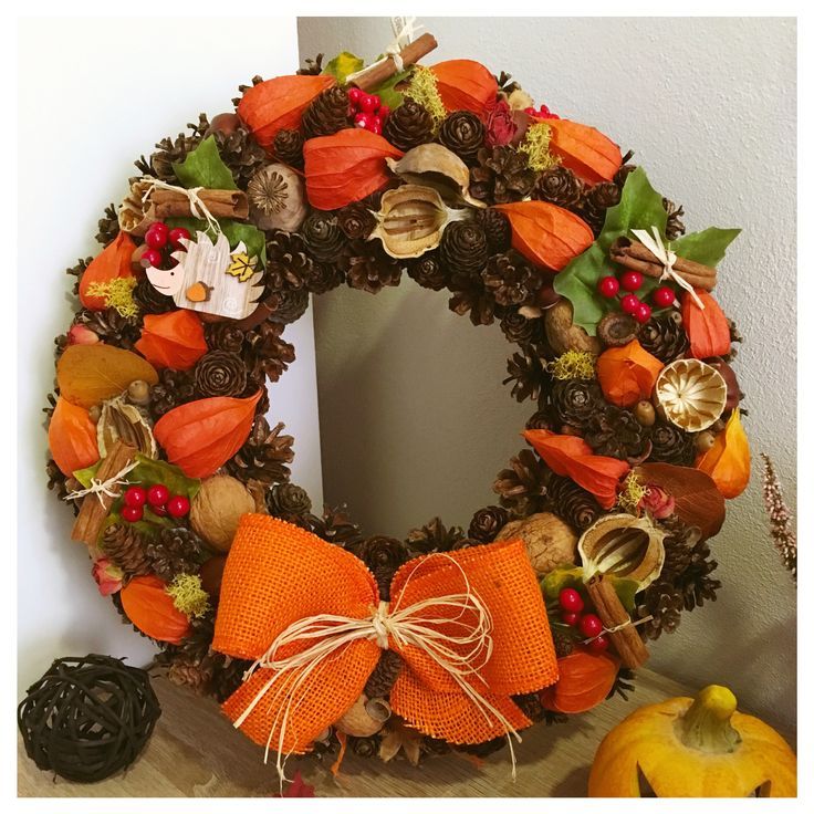 Fall door wreath 🍁