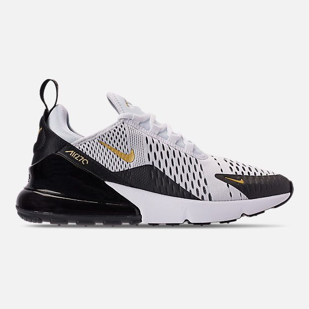 Right view of Men's Nike Air Max 270 Casual Shoes in White ...