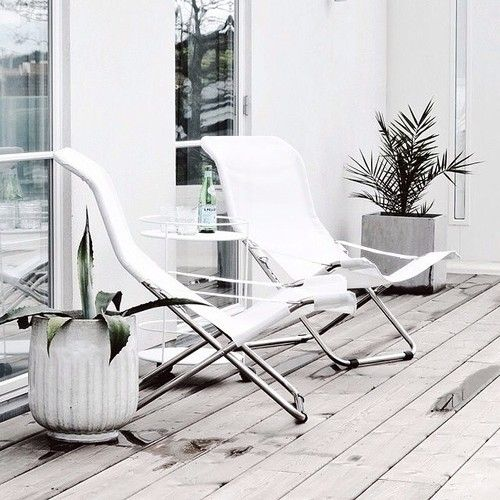 Outside - White Decor
