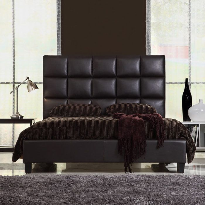 Best 25+ Leather headboard ideas on Pinterest | Leather bed, Green ...