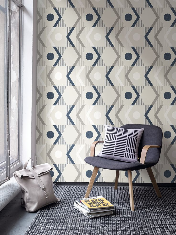 River / non-woven wallpaper / lavmi