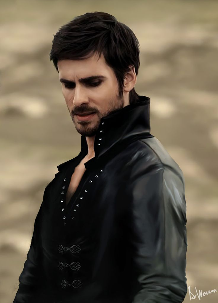 Killian Jones/Captain Hook in Once Upon a Time. For some reason don't want the actor unless he's got eyeliner on...
