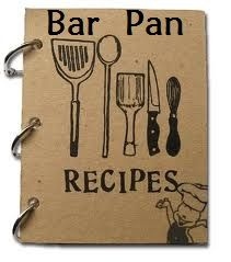 "Recipes to get you started with your Pampered Chef Bar Pan. Just click the photo, then click link that says ""Bar Pan"" from my FB Page."