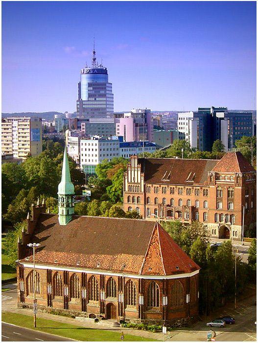 Szczecin, Poland - where my friend Remi is from.