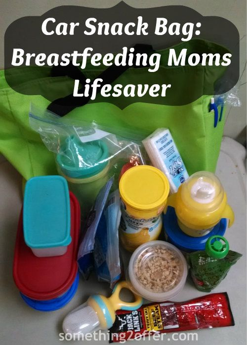 Car Snack Bag: A Must for Breastfeeding Moms- Are you a busy #breastfeeding mom? Do you take your nursling with you everywhere? Then I can imagine how many calories you are burning going to the park or grocery store plus nursing a baby. I have to admit since I had children that I became a snacker. #LatchOnLinkUp