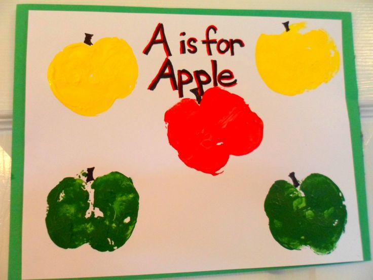 September Craft Ideas For Kids Part - 18: Fall Preschool Apple Craft Ideas