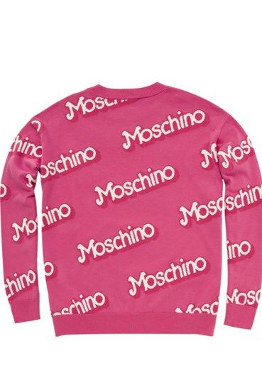 MOSCHINO - Sweater #alducadaosta #newarrivals #moschino #runway #capsule #collection #think #pink #style #fashion #cool #love #girl #women #apparel #accessories