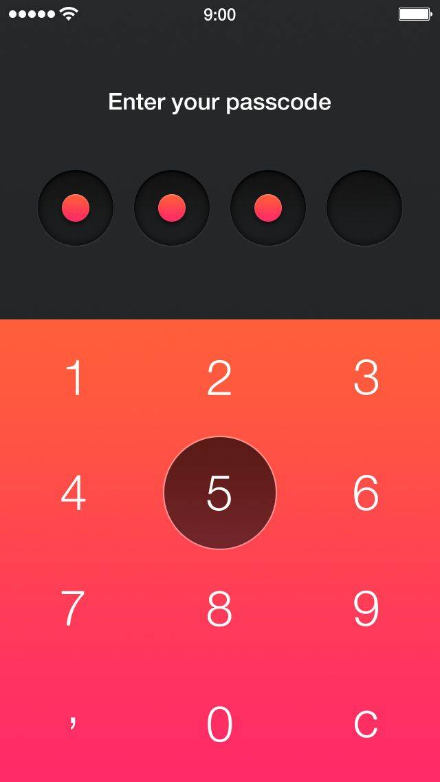 Walle Finance App [Passcode and Add Card Screens] from Alexander Zaytsev