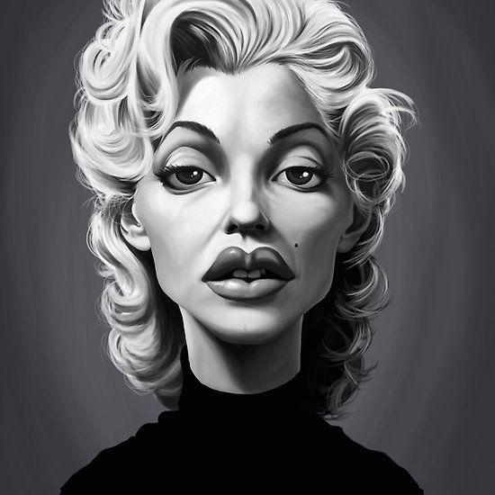 Marilyn Monroe art | decor | wall art | inspiration | caricatures | home decor | idea | humor | gifts
