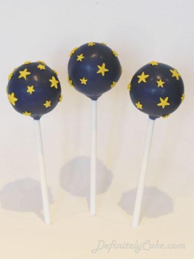 Starry Sky Cake Pops