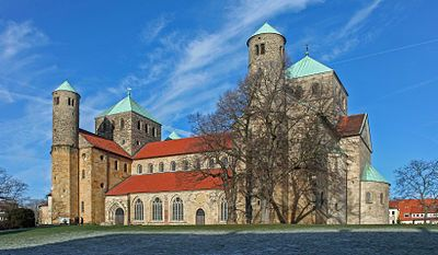 St. Michael's Church, Hildesheim 1031 AD.