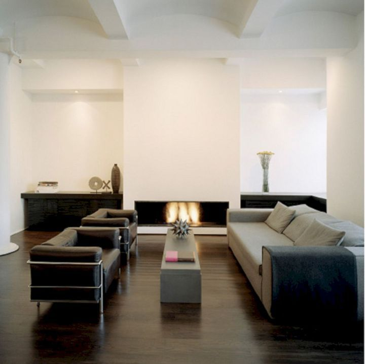 Living Room With Dark Wood Floors 117