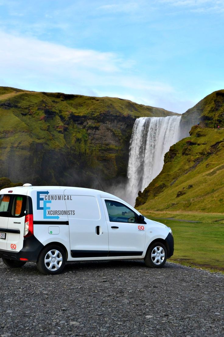 Using a campervan in Iceland is the way to go! You get both a vehicle and lodging all in one!
