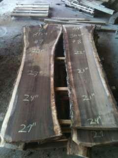 Hoobly: Black Walnut Lumber & Live Edged Wood Slabs, Blue Ridge