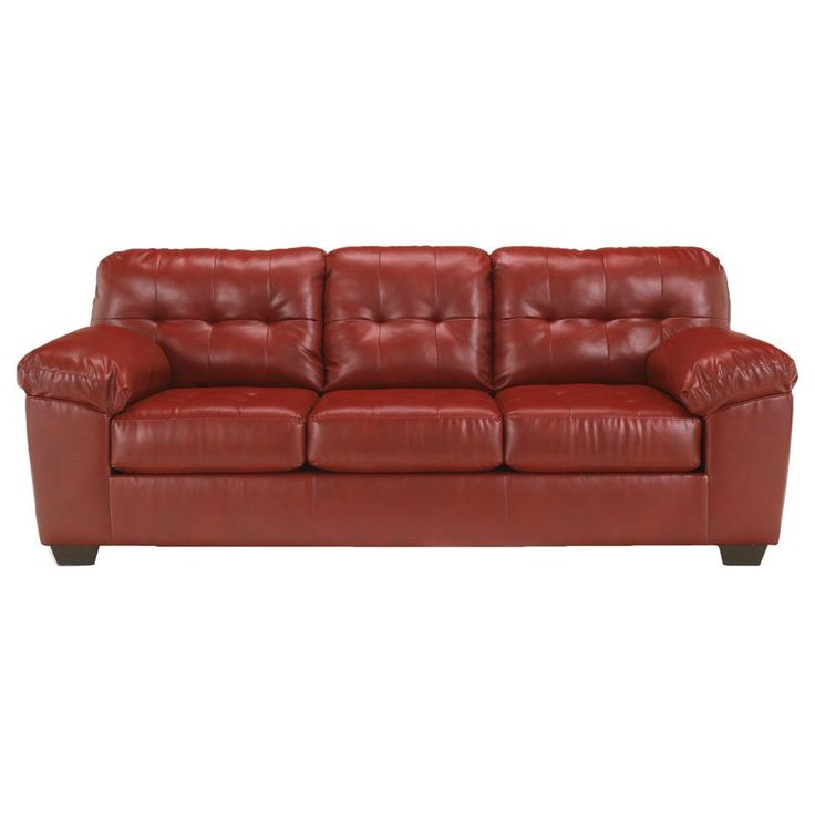 Signature Designs By Ashley U0027Allistonu0027 Red DuraBlend Sofa   Overstock  Shopping   Great Deals. Furniture OutletOnline ...