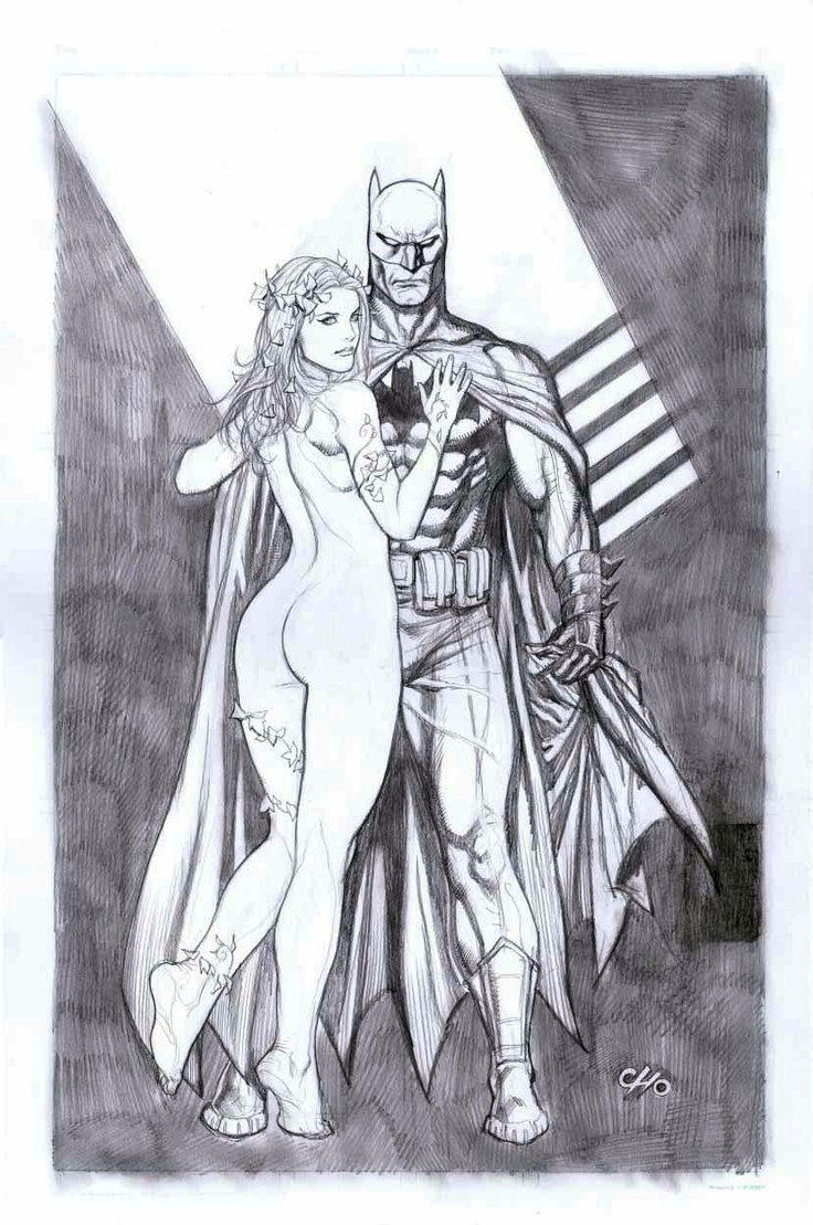 Batman and Poison Ivy by Frank Cho