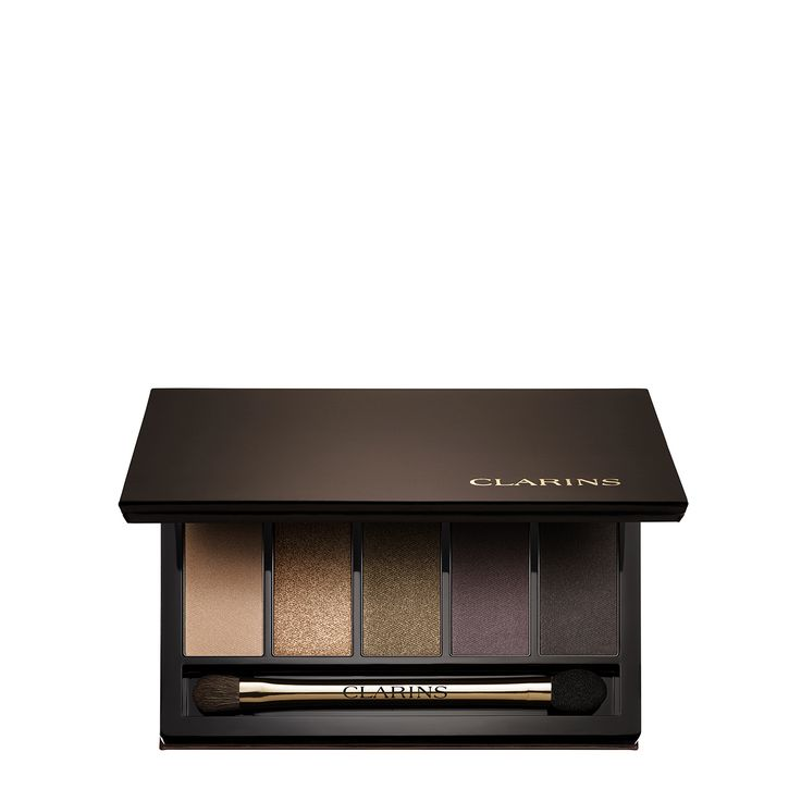 5-Colour Pretty Night Eyeshadow Palette - <b>Favorite fall hues!</b> Five flirty shades that bring out the beauty in <i>all</i> eye colors: <i>matte nude beige, shimmering golden brown, satin bronze, matte smoky plum</i> and very intense <i>matte black</i>. Blend and play as you please for a beautiful night look!  Dermatologist- and ophthalmologist-tested.