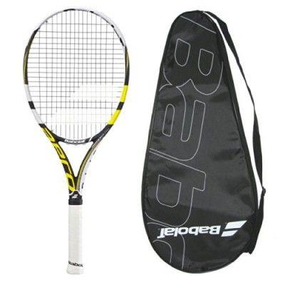 Raquete de Tênis Babolat 2014 AeroPro Lite GT Tennis Racquet - STRUNG with COVER - 4-3/8 #Raquete de Tênis #Babolat