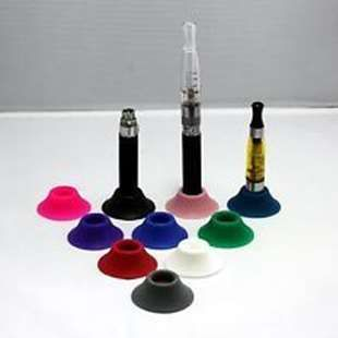 eGo Silicon eCig/Battery Desk Stand - The soft silicon socket will NOT damage your battery.