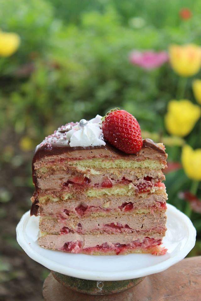 Strawberry Chocolate Naked Cake… Ovvero le nuove Wedding Cake
