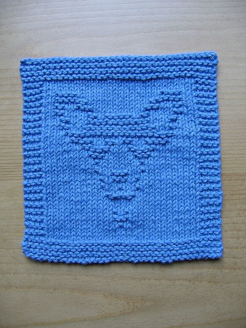 Knitting Pattern For Border Terrier : 101 best images about Kluter / Dishcloth on Pinterest Free pattern, Cable a...