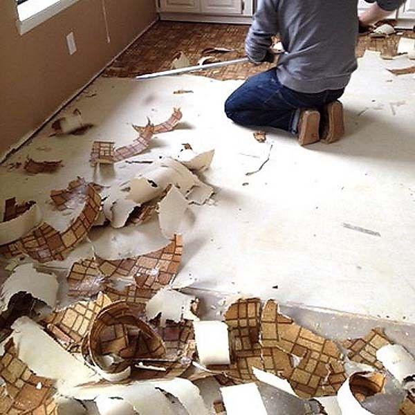 Superb How To Remove Linoleum Flooring U2013 The Best And Fastest Ways