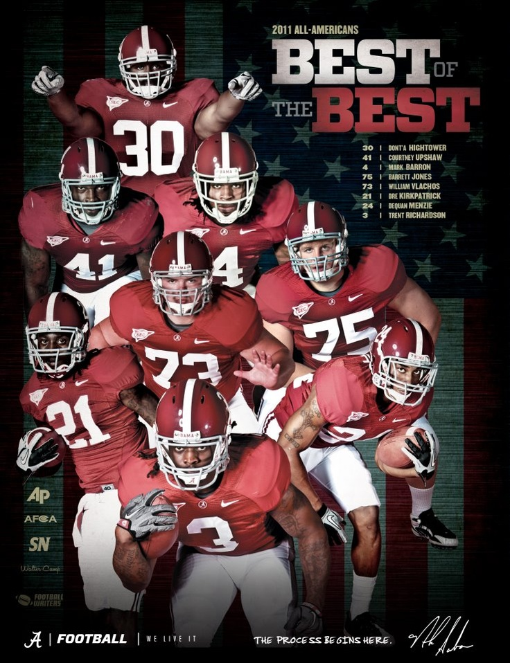 Bama's 2011 All-Americans
