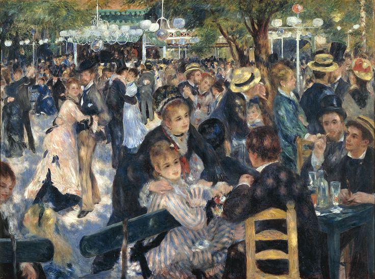 Bal du Moulin de la Galette - Auguste Renoir