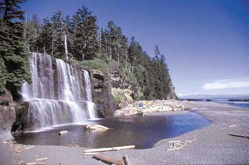 Tsusiat Falls, Vancouver Island, BC