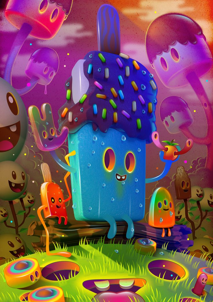 His Design a Process - Dive into the colourful world of Jonathan Ball | Creative Bloq #illustration #affinitydesigner