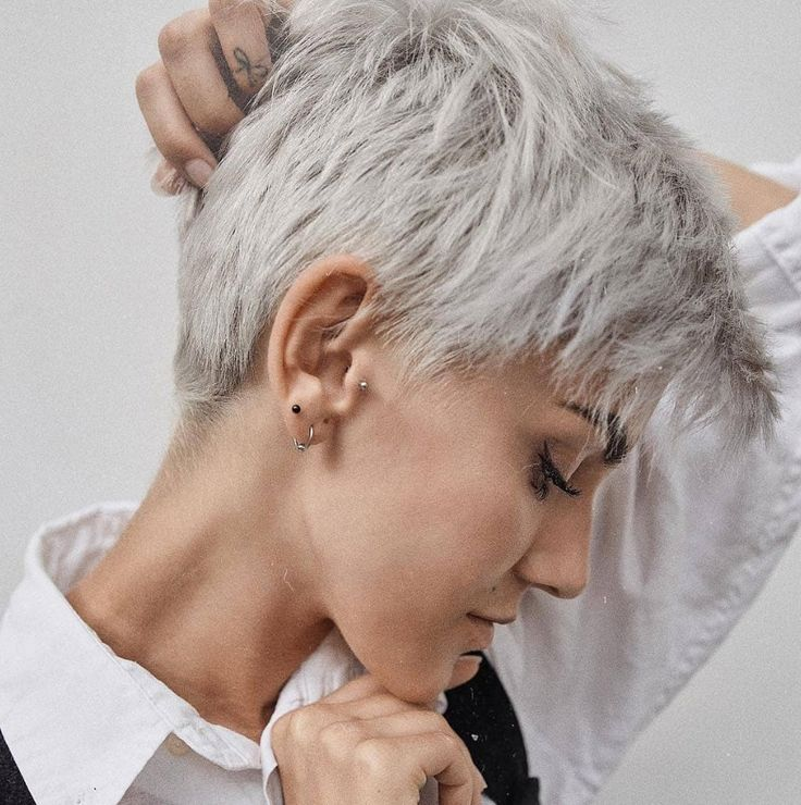 58 Hottest Shaved Side Short Pixie Haircuts Ideas For Woman In 2019 - Page 3 of 58