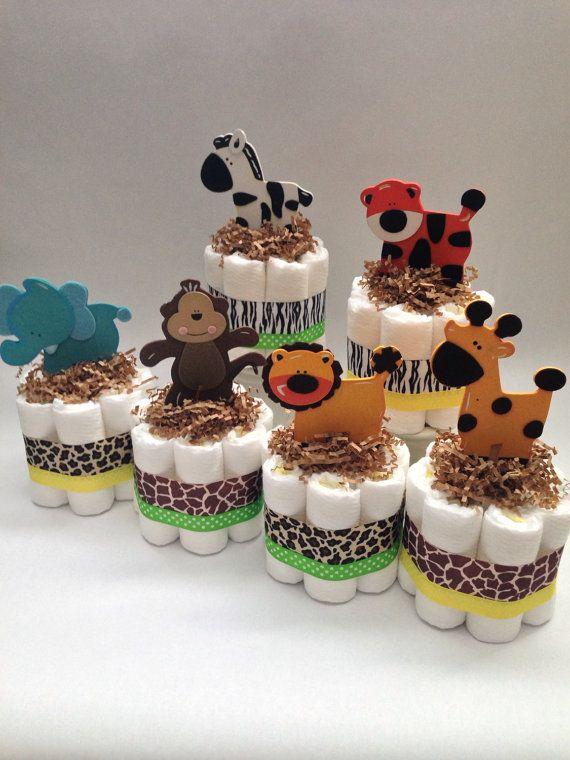 Estas tortas de pañales mini son la adición perfecta a su baby shower. Algunos pueden colocarse sobre una mesa o alrededor del espacio a decorar y acentuar su evento! Las posibilidades son infinitas!  ------------------------------------------------------------------------- >>> ingredientes dulces