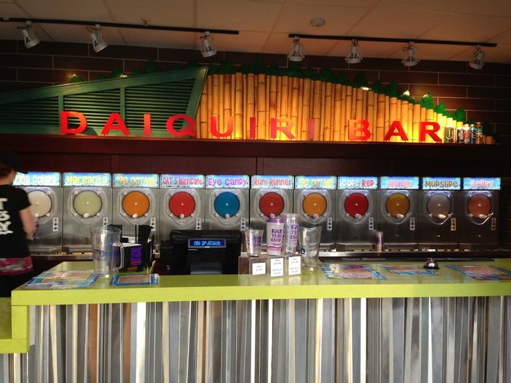 Fat Tuesday Daiquiri Bar - Universal Orlando City Walk. Had some good times before Halloween Horror nights :)