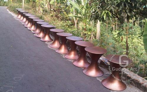 Meja tembaga kuningan Copper brass Table02