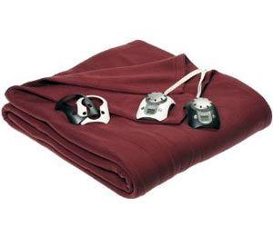 biddeford electric blanket washing instructions