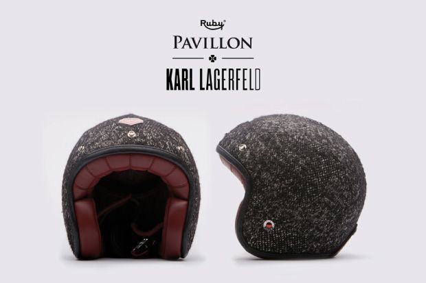Karl Lagerfeld Riding helmet