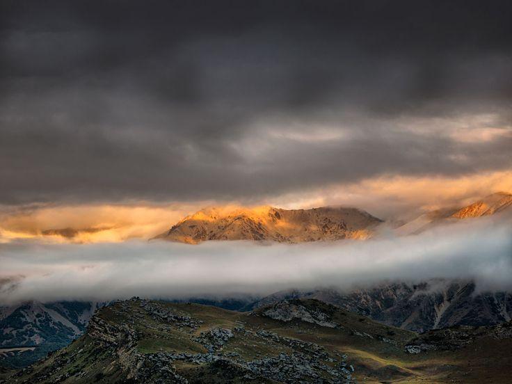 Last Light, Arthurs Pass, New Zealand