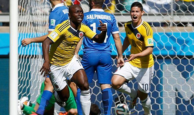 Colombia terminó goleando a Grecia   BolaVip