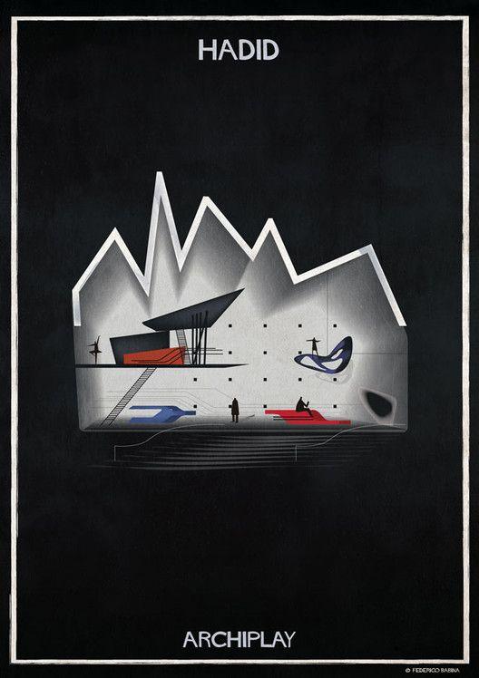 Federico Babina's ARCHIPLAY Illustrations Imagine Set Designs by Master Architects,© Federico Babina