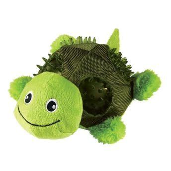 Brinquedo Kong Shells Turtle RSH21 Verde para Cães Médio