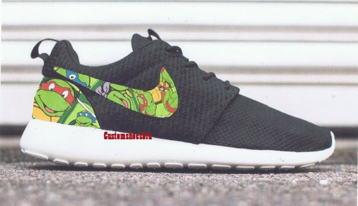Custom Ninja Turtle Nike Roshe Run