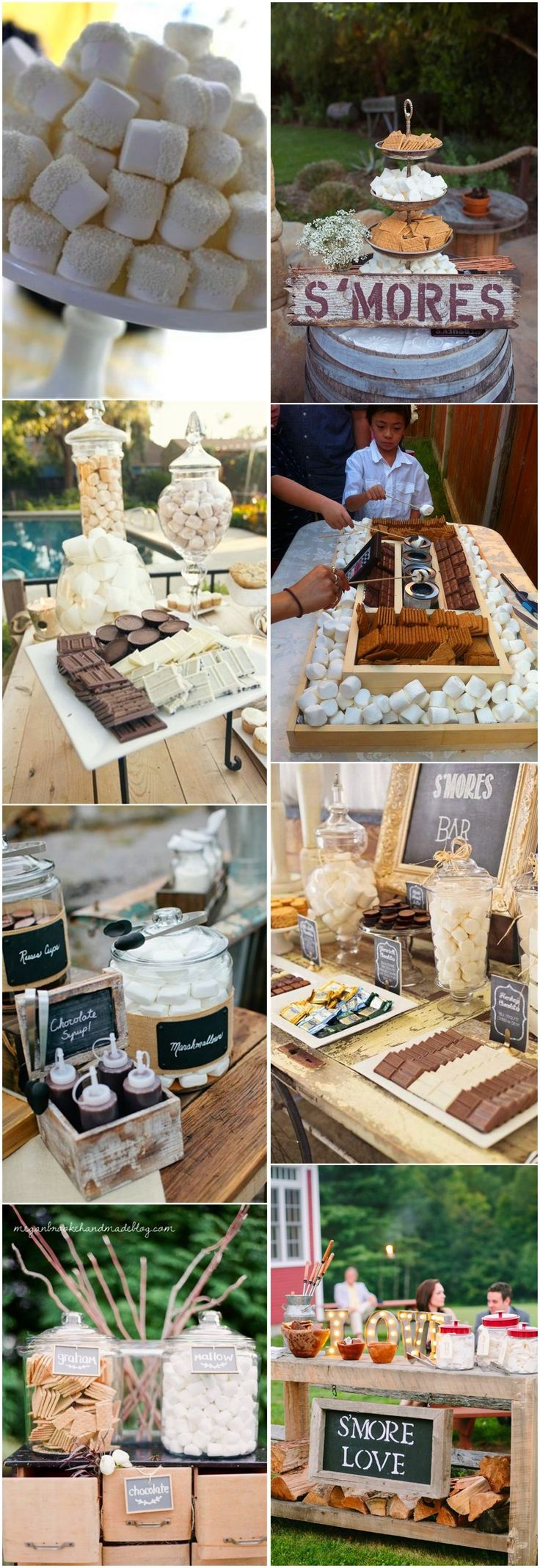 185 Best Wedding Dessert Bar Images On Pinterest Weddings
