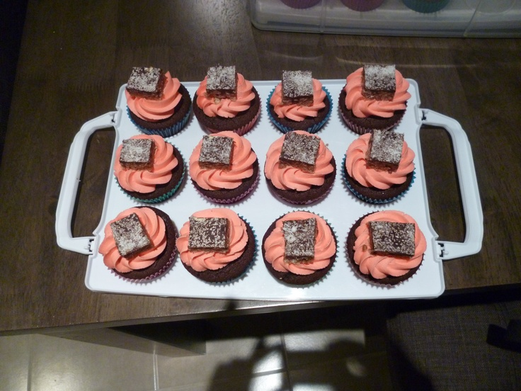 Some chocolate crackle cupcakes!