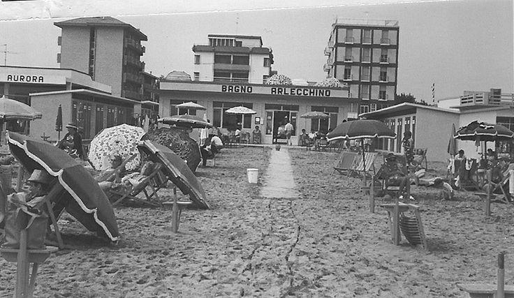 14 best la spiaggia di una volta images on pinterest - Bagno giorgio cesenatico ...